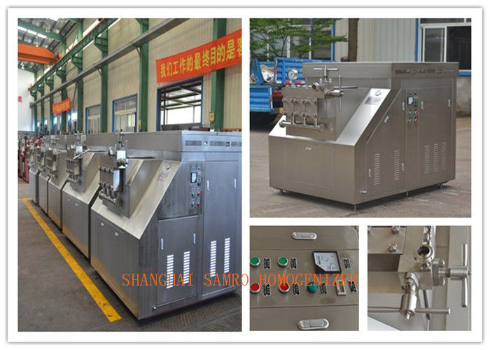 Professional High Performance Two Stage Food Homogenizer Equipment